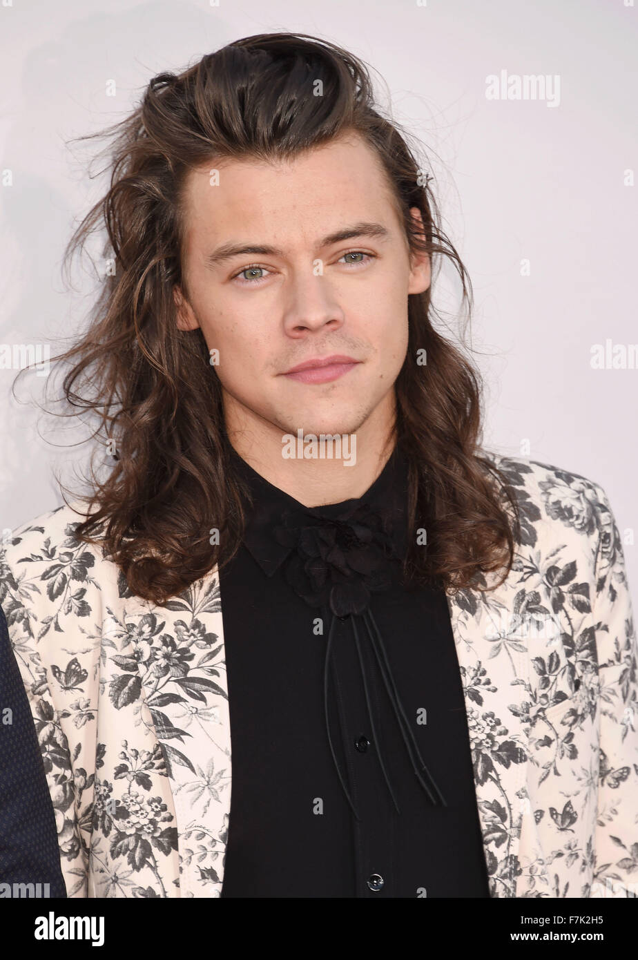 HARRY STYLES UK pop singer with One Direction in November 2015. Photo Jeffrey Mayer - Stock Image
