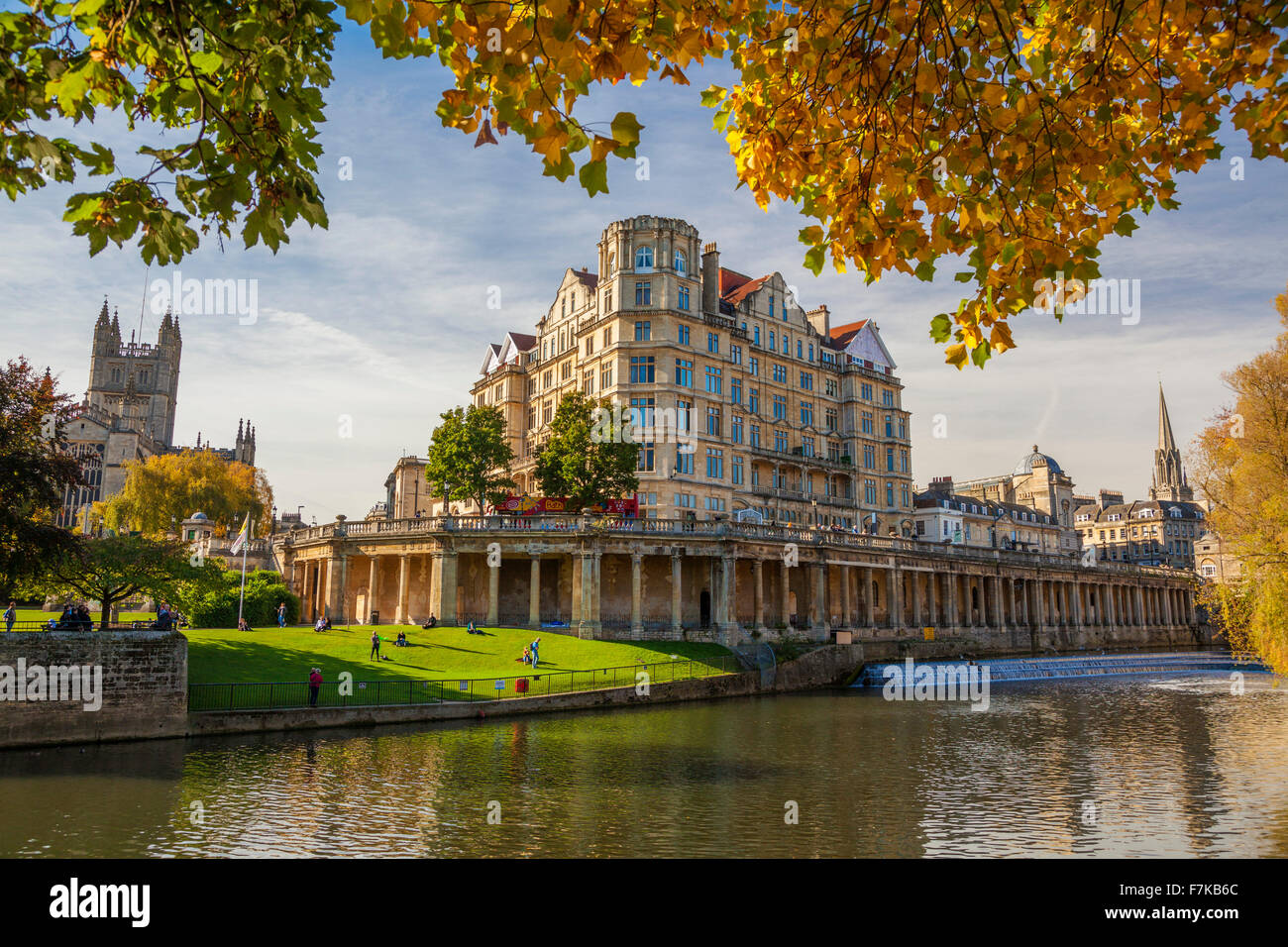 Bath, Somerset, England, U.K. - Stock Image