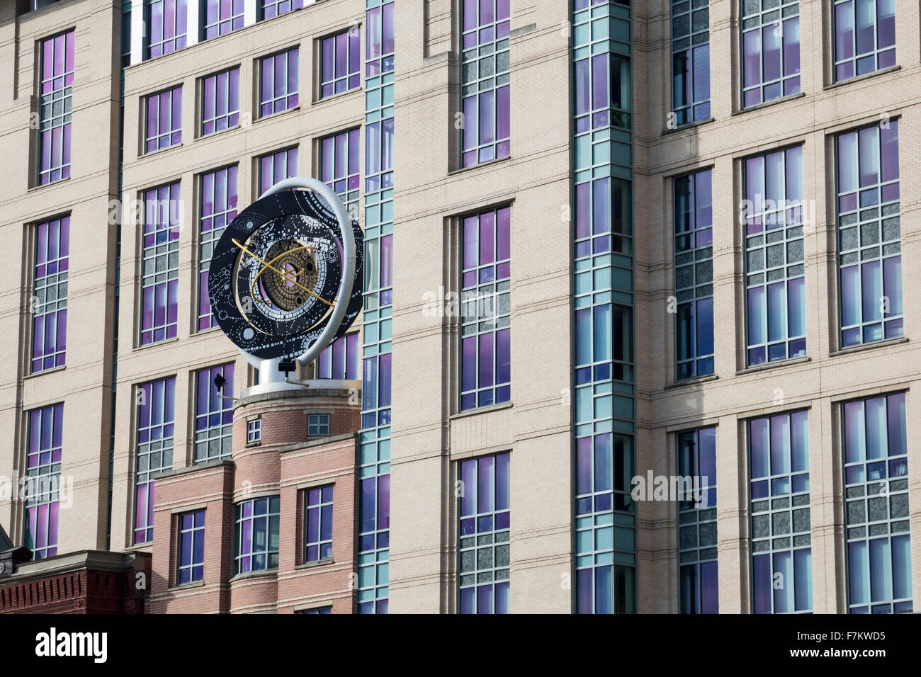 Washington, DC - The Keck Center of the National Academies of Sciences, Engineering, and Medicine. - Stock Image