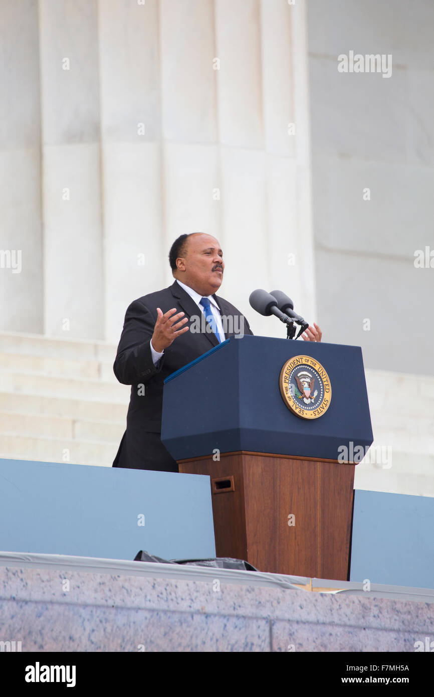 Martin Luther King Iii Son Of The Late Dr Martin Luther King Jr
