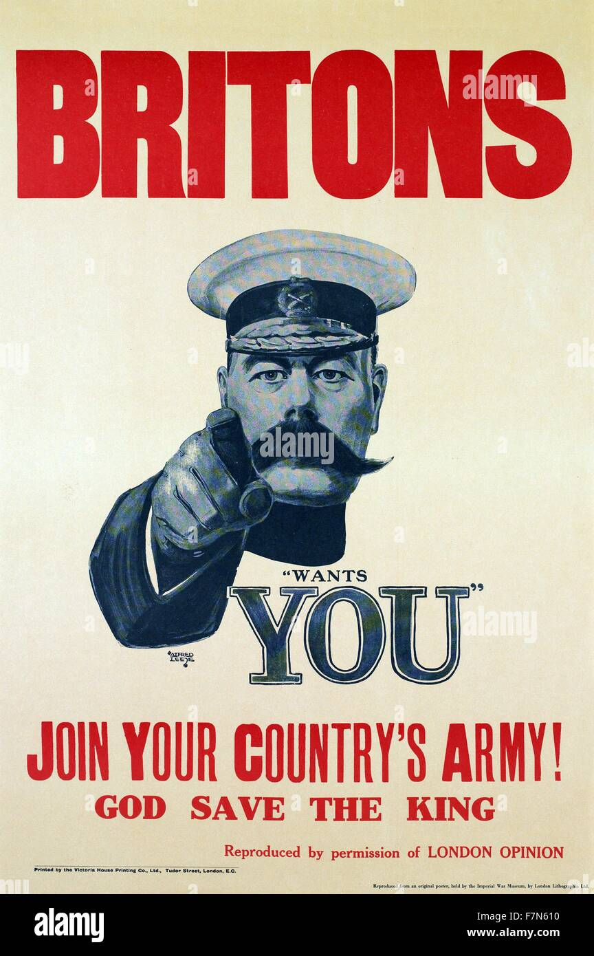 Vintage WW1 Recruitment Poster Reproduction Your Chums Are Fighting