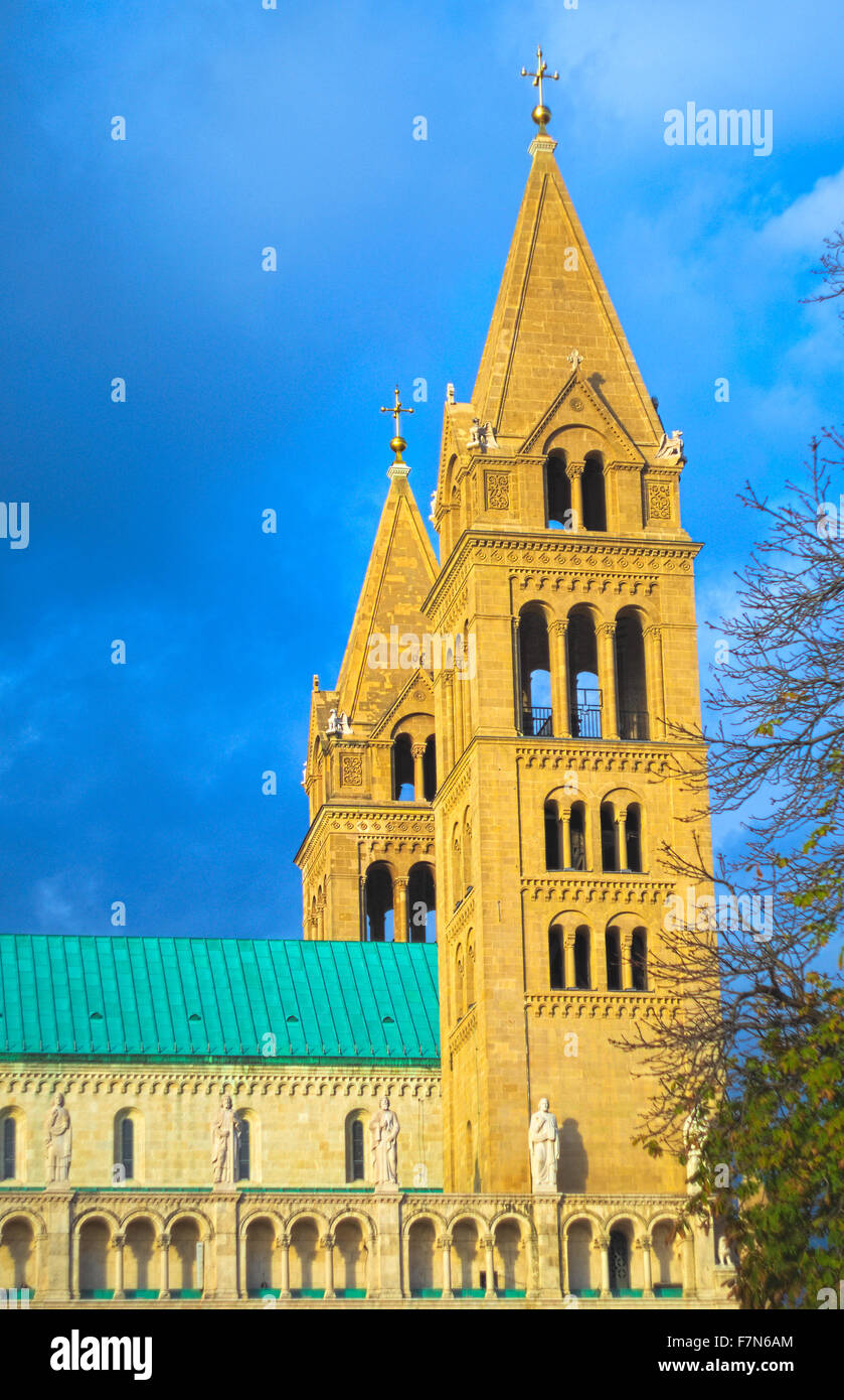 Pécs - Stock Image