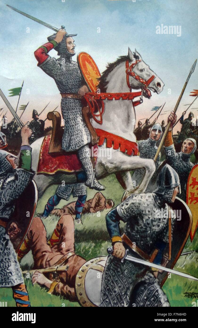 William The Conqueror Stock Photos Battle Story Hastings 1066 1087 At Of