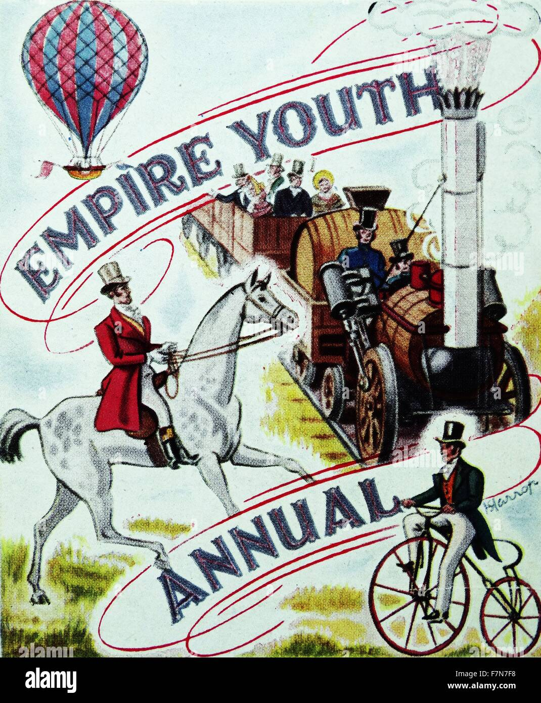 Cover of 'Empire Youth Annual'. - Stock Image