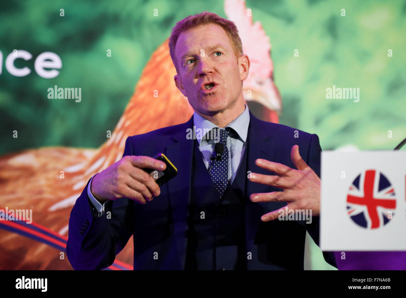 Countryfile's Adam Henson at the2015 BFREPA Conference at the National Motorcycle Museum in Birmingham, UK. - Stock Image