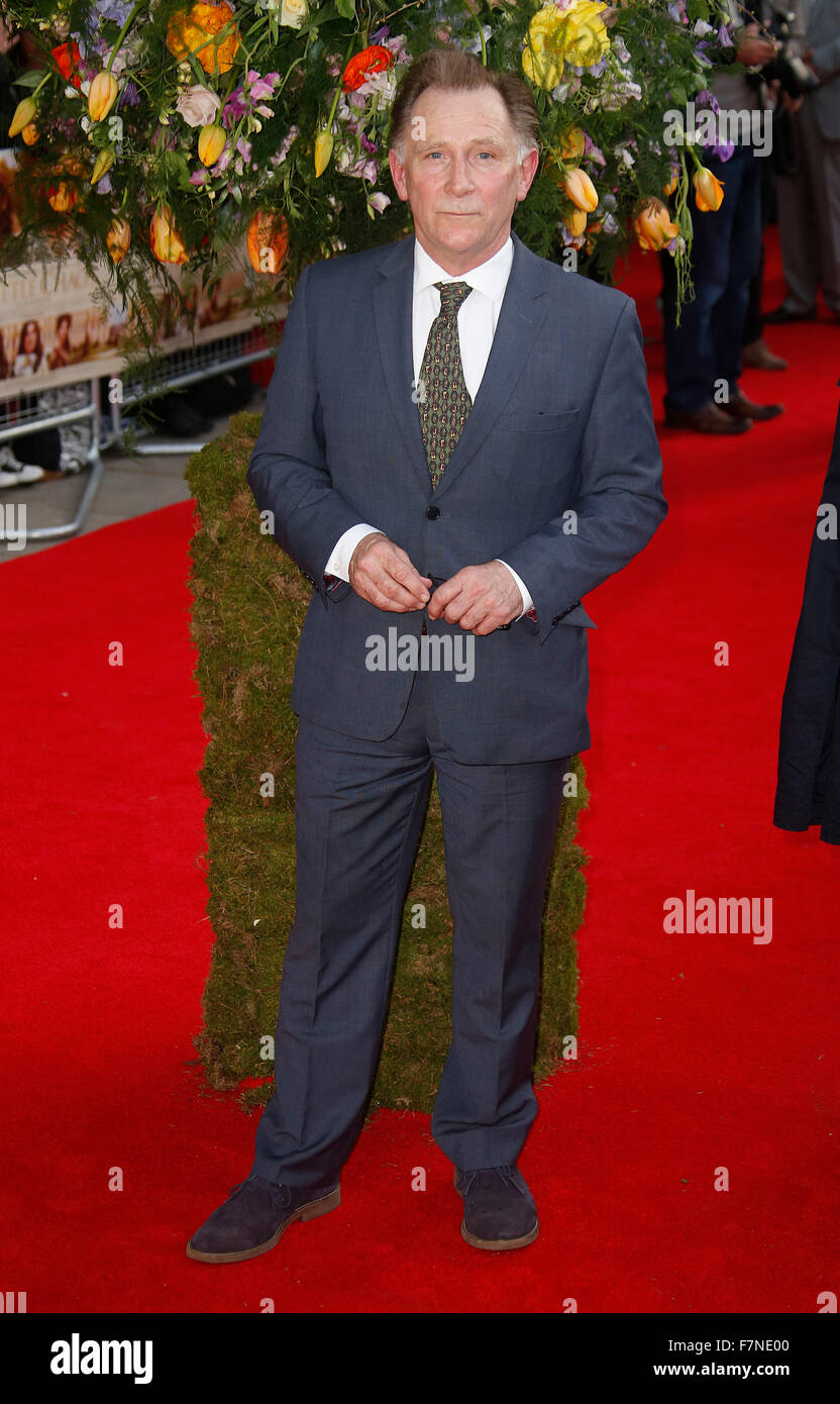Apr 13, 2015 - London, England, UK - Danny Webb attending A Little Chaos UK Premiere, Odeon Kensington - Stock Image