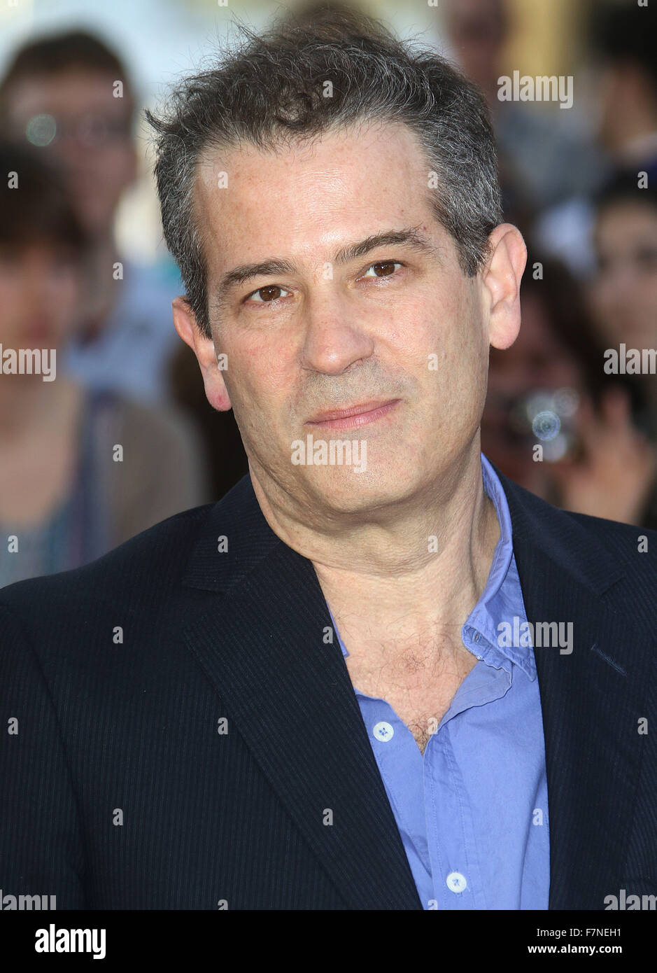 Apr 15, 2015 - London, England, UK - Allon Reich attending Far From the Madding Crowd World Premiere, BFI Southbank - Stock Image
