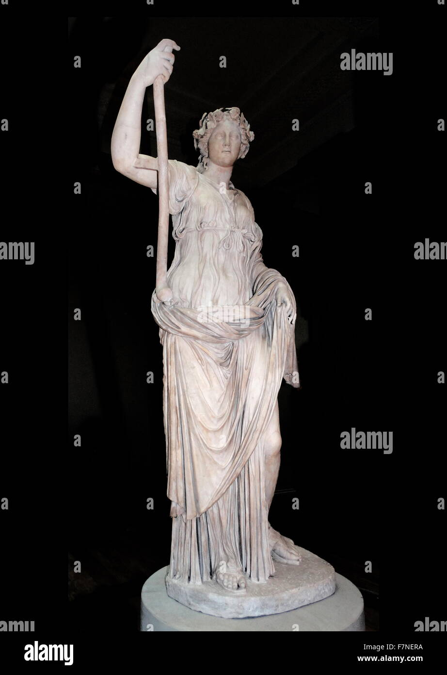 Thalia, the muse of Comedy. Roman, 2nd century AD - Stock Image