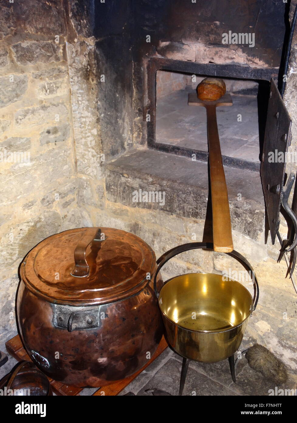 17th century Dutch kitchen - Stock Image