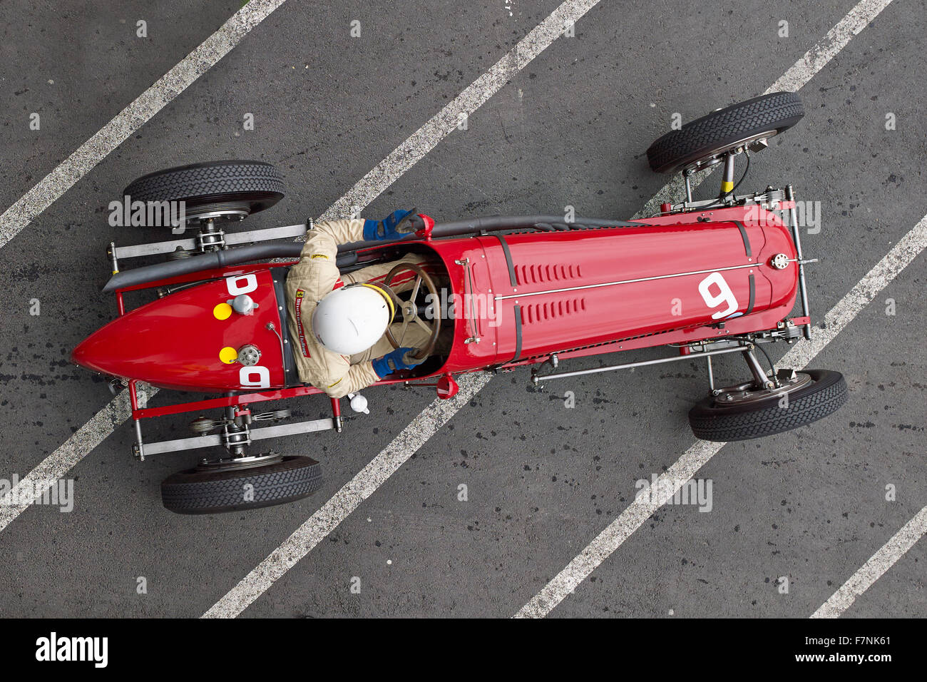 Germany, Nurburgring, Oldtimer Grand Prix, Maserati 8CM - Stock Image