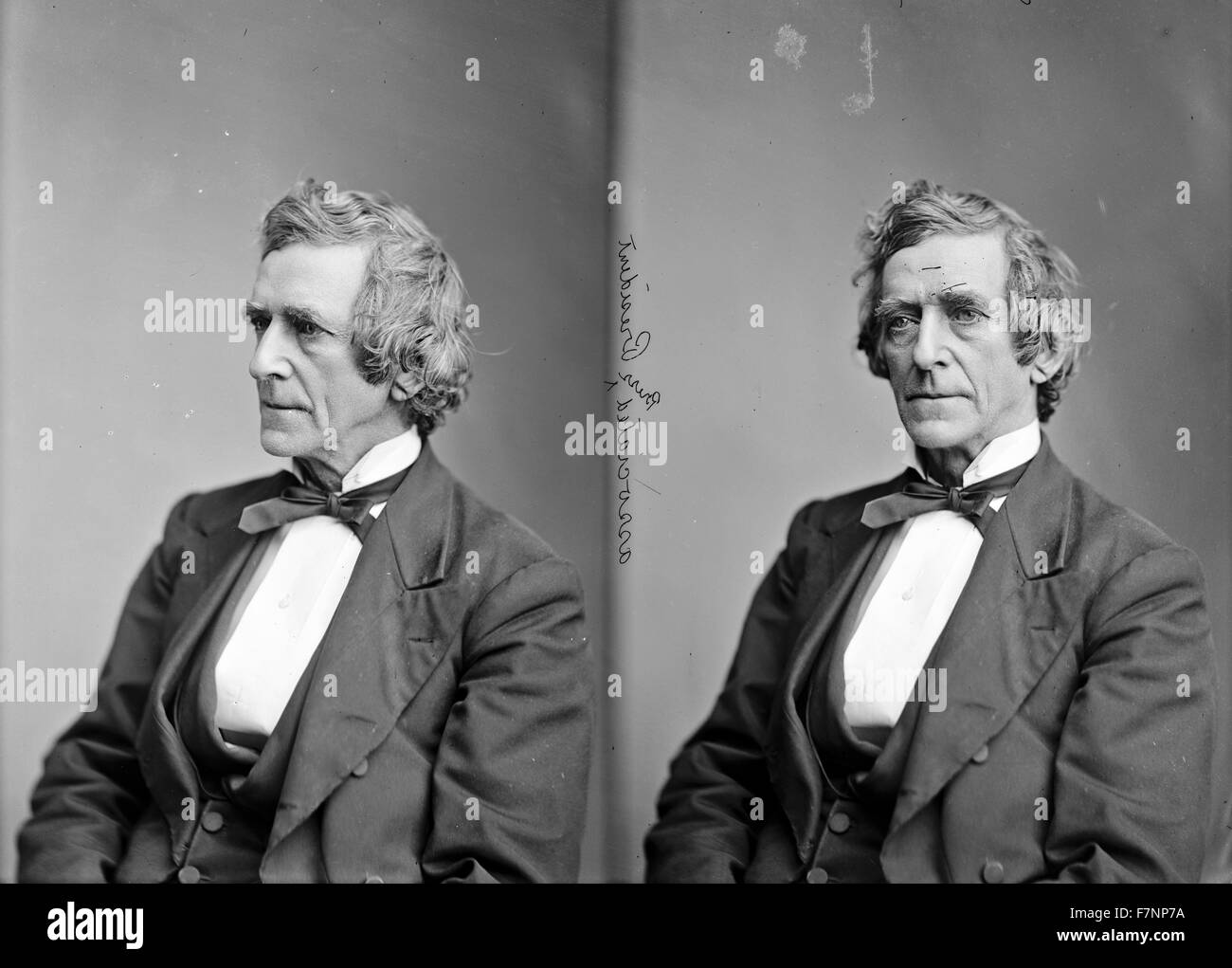 L.A. Gobright, President of Associated Press. [between 1865 and 1880] - Stock Image