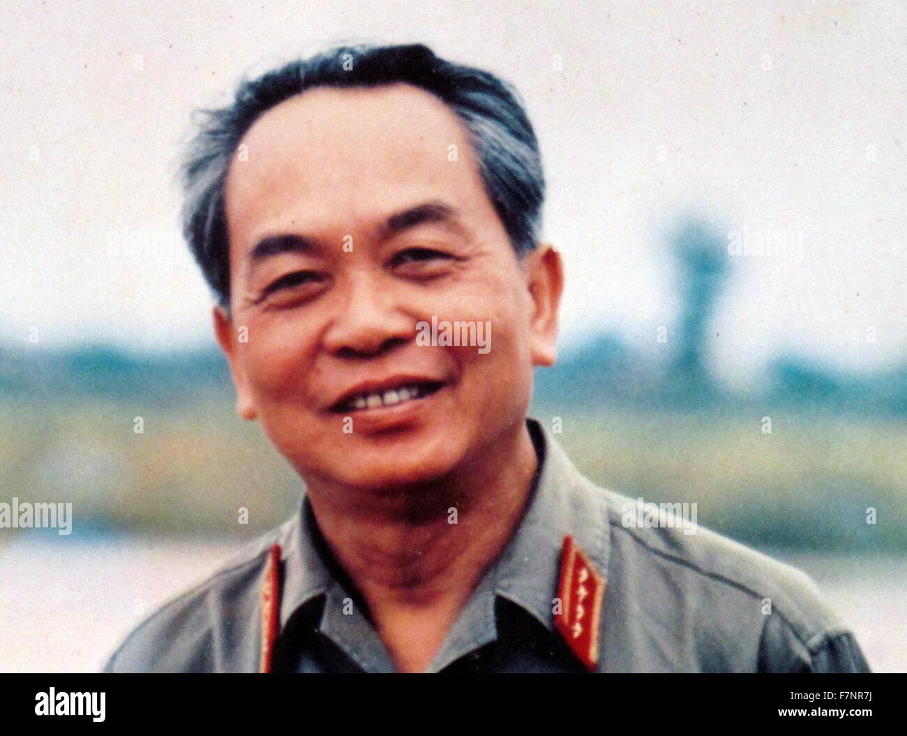 Vo Nguyên Giáp (25 August 1911 – 4 October 2013) was a General in the Vietnam People's Army and a - Stock Image
