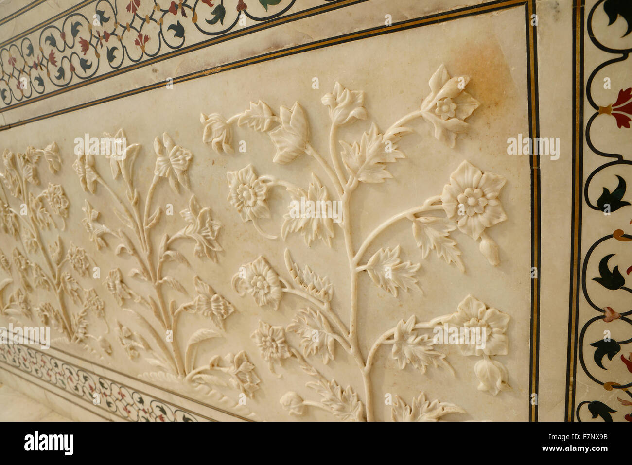 Mughal Wall Decoration Stock Photos & Mughal Wall Decoration Stock ...