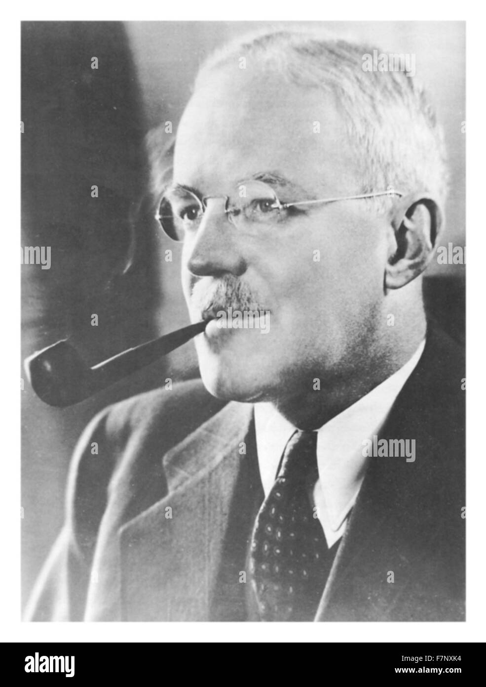 Allen Welsh Dulles (1893 – 1969) American diplomat and lawyer who became the first civilian Director of Central - Stock Image