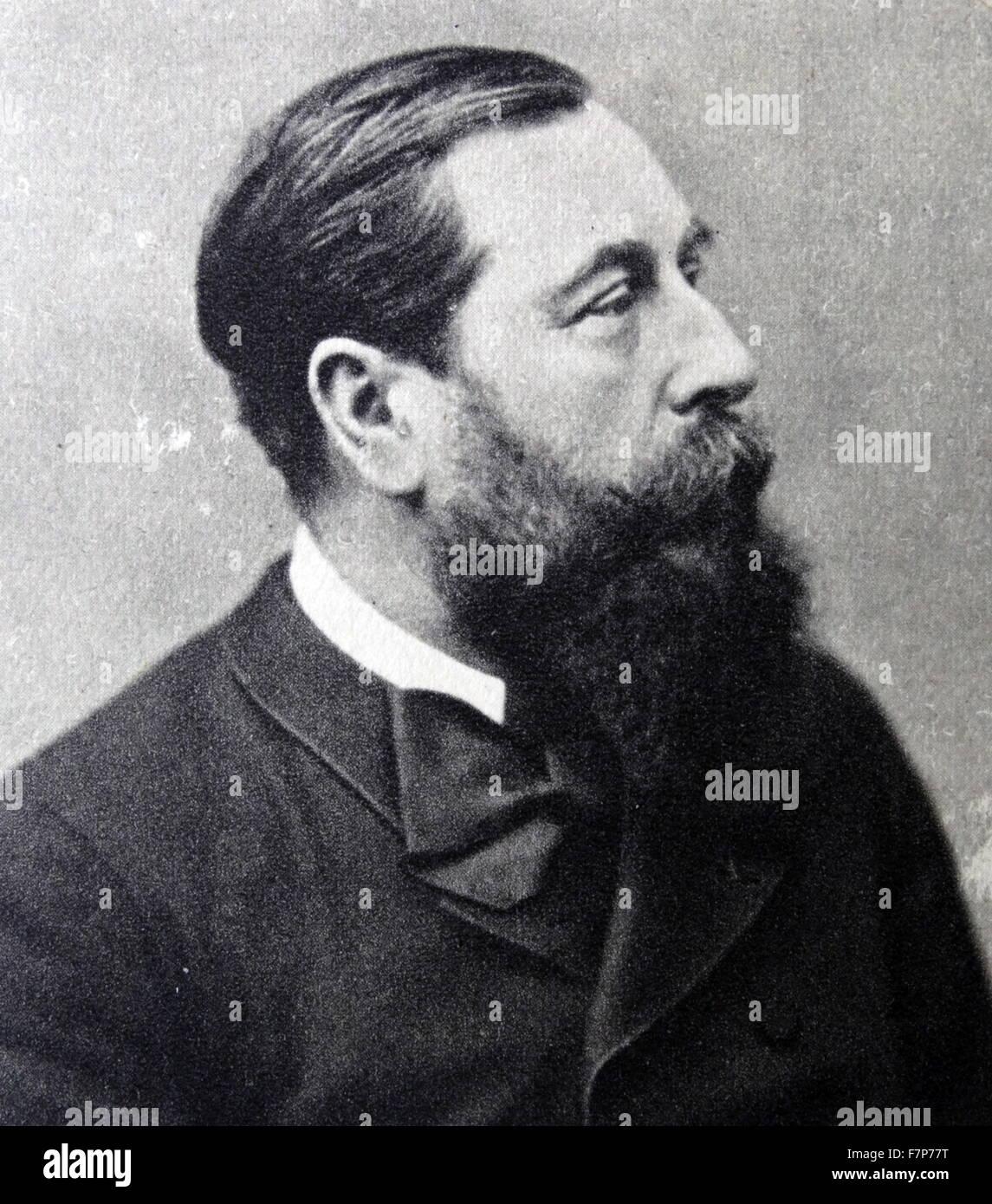 Leo Delibes (1836-1891) - Stock Image
