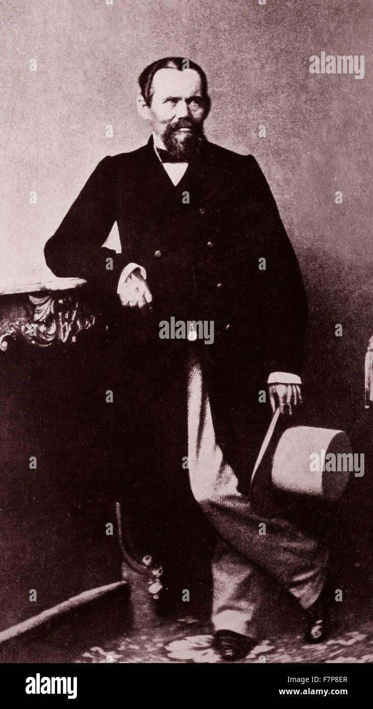 Heinrich Laube - Stock Image