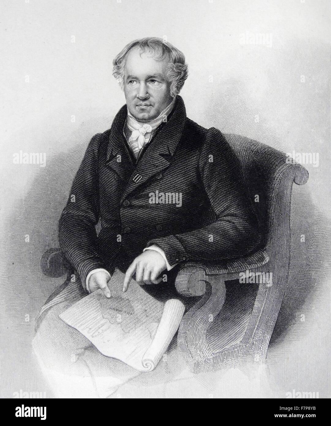 Alexander von HUMBOLDT - 1769 - 1859 - Stock Image