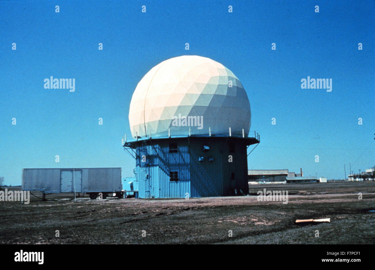 Doppler Weather Radar located in Norman, Oklahoma  1970's research