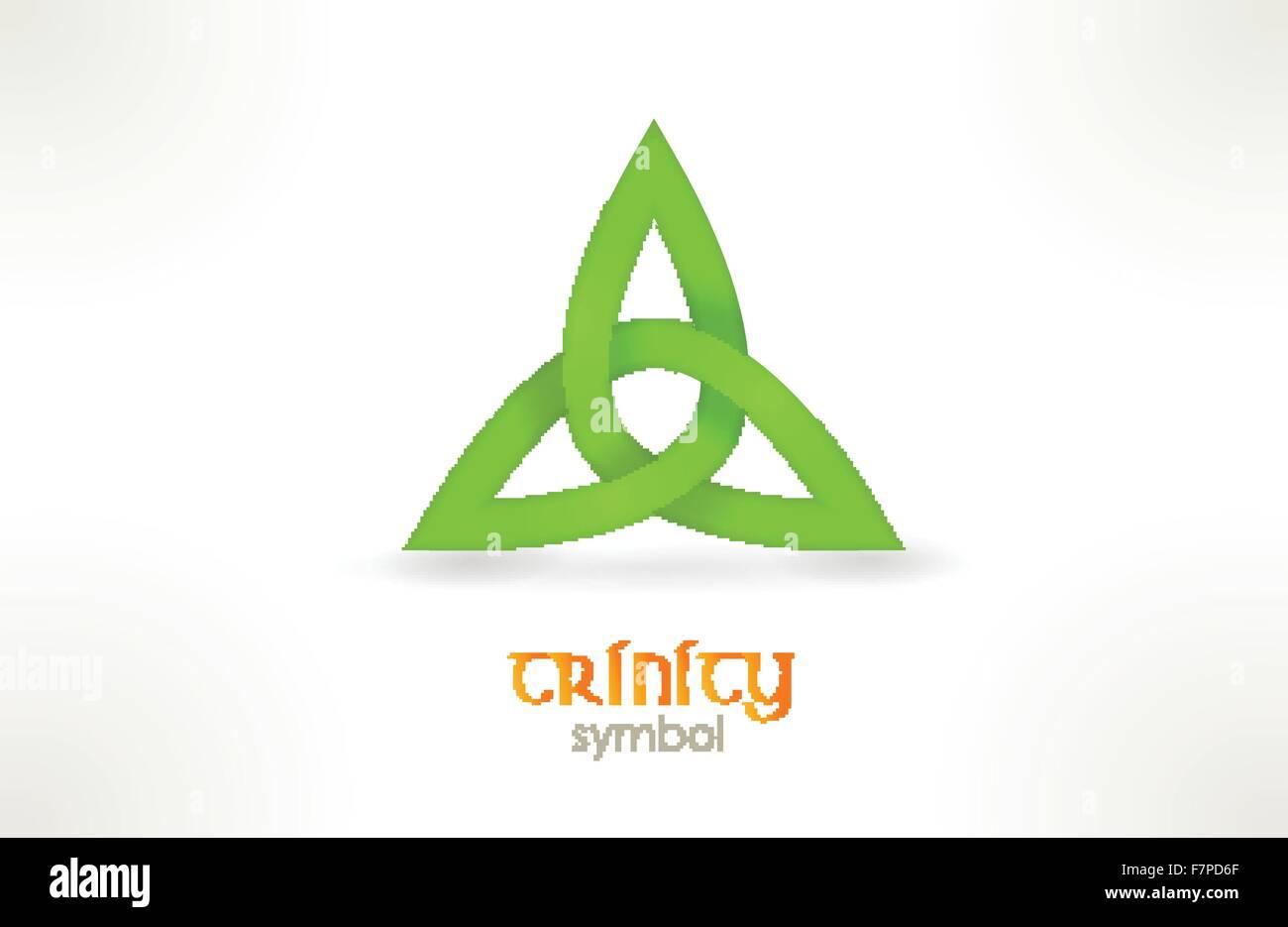 Trinity symbol, triqueta - Stock Vector