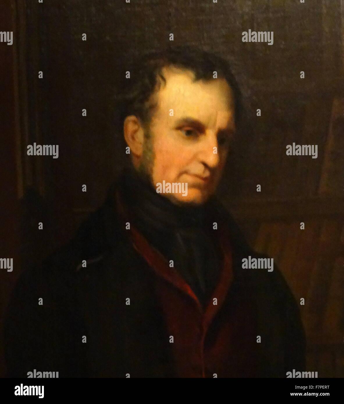 Portrait of Arthur Wellesley, 1st Duke of Wellington (1769-1852) by Andrew Morton (1802–1845) British artist. Dated - Stock Image