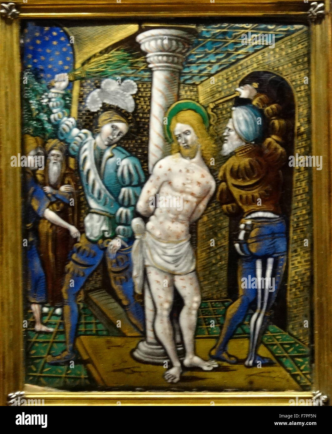 Episodes from the Life and Passion of Christ. Dated 16th Century - Stock Image