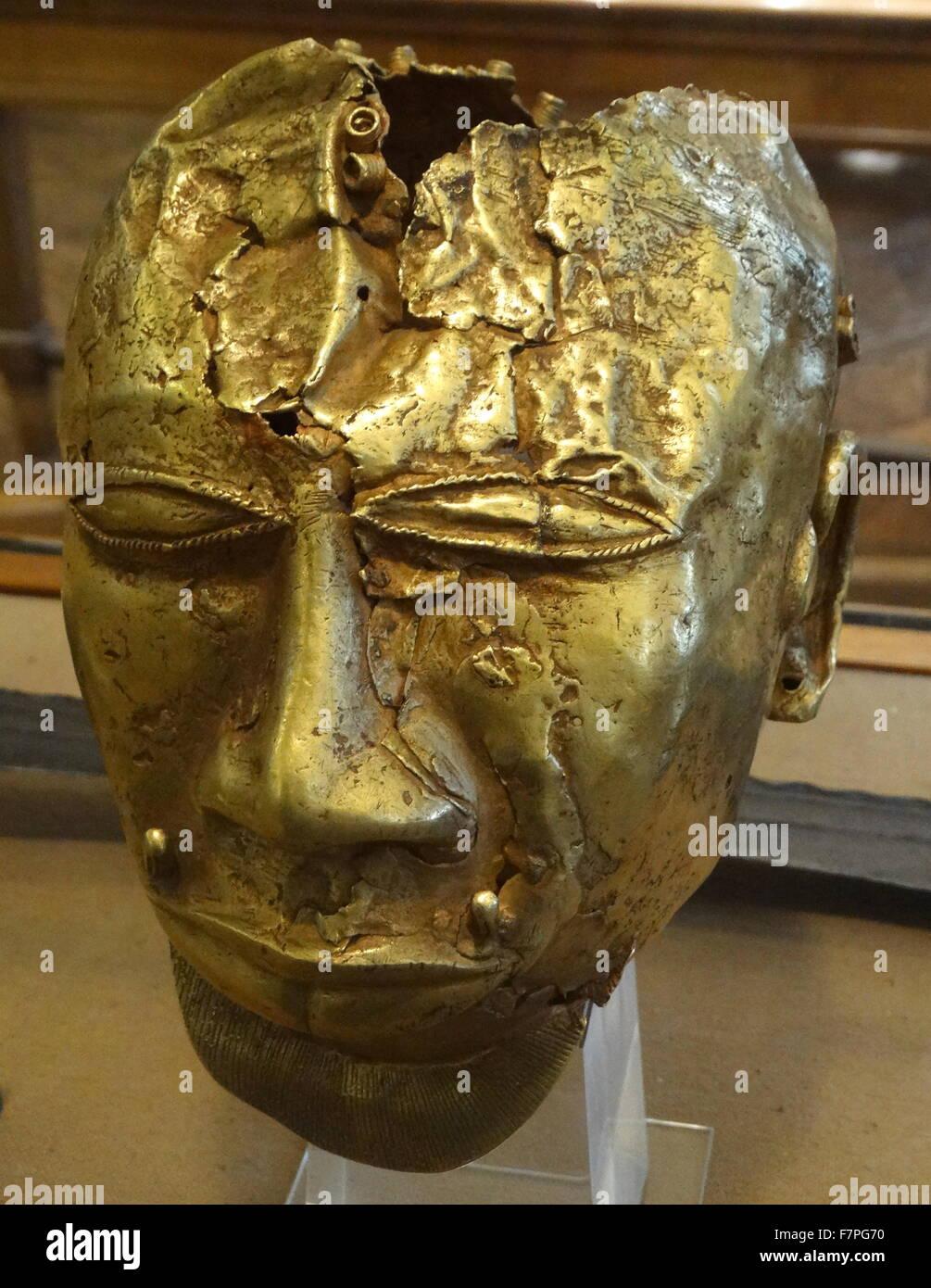 Part of the Treasure of Kofi-Karikari, King of Ashanti, present-day GhanaStock Photo