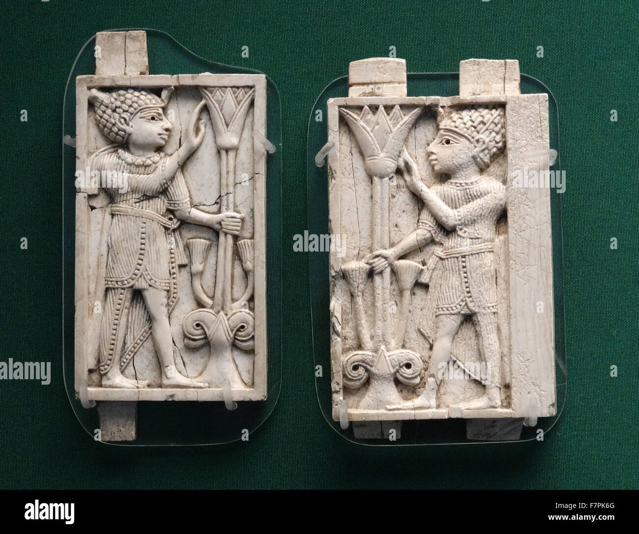 Ancient Egypt Relief Lotus Flower Stock Photos Ancient Egypt