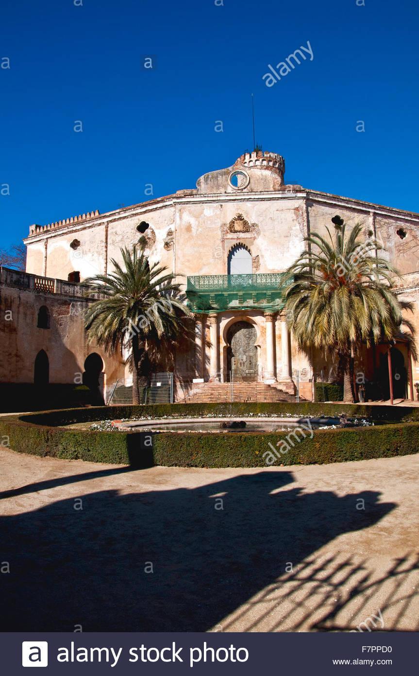 Jardín del Laberinto de Horta, Barcelona, España - Stock Image