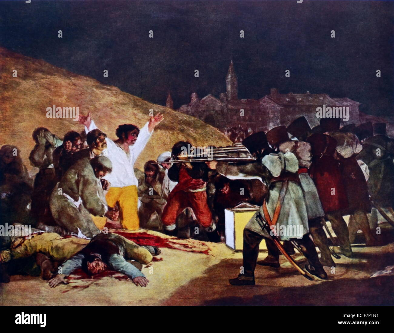 The Third Of May 1808 El Tres De Mayo De 1808 En Madrid Painting Completed In 1814 By The Spanish Painter Francisco Goya It Commemorates The Spanish