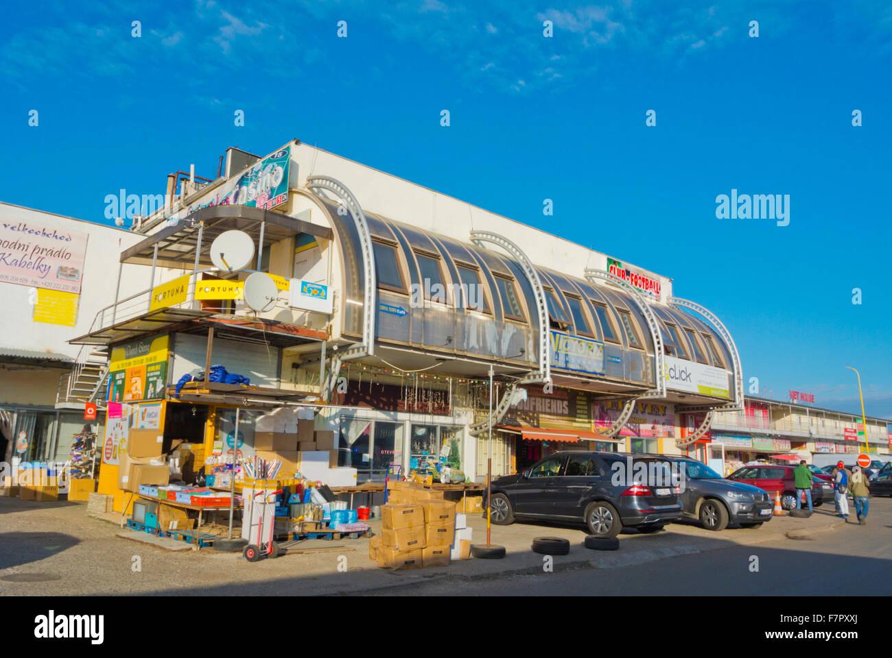 SAPA, the Vietnamese market, Libus, Prague, Czech Republic Stock Photo