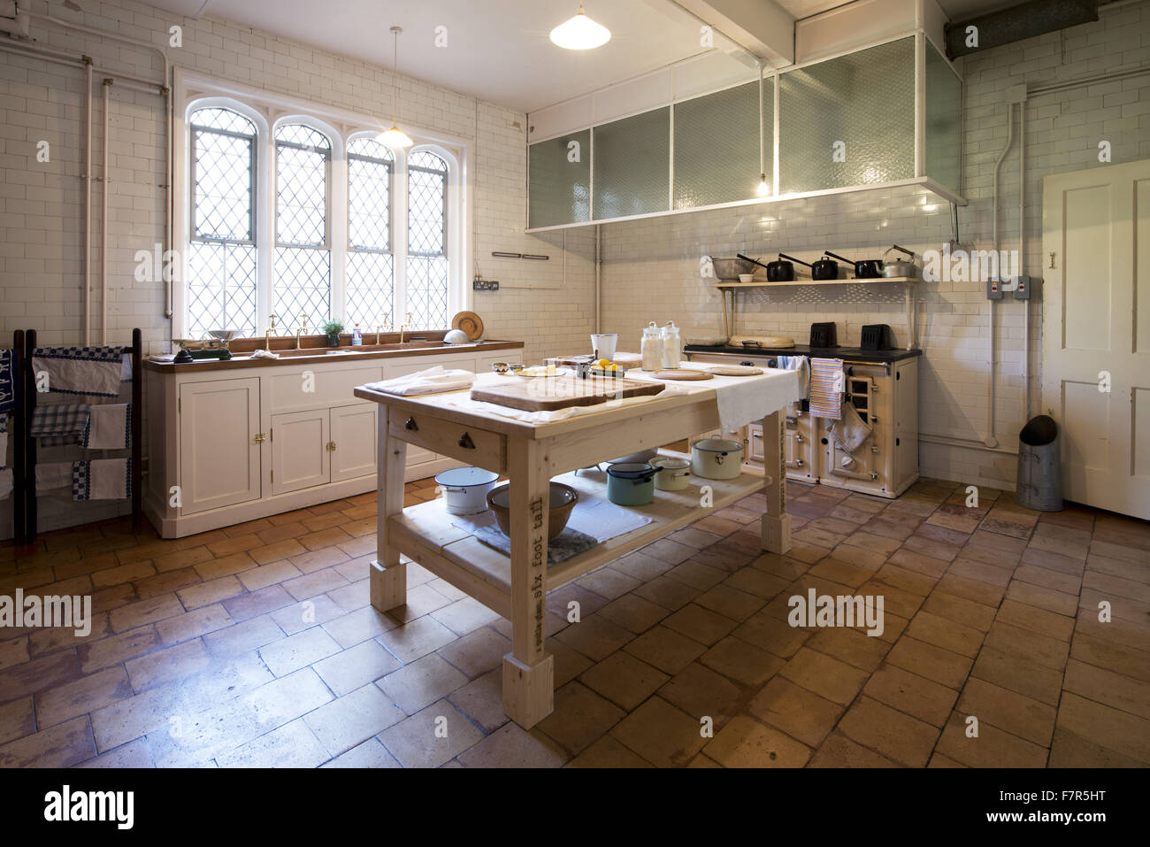 The Kitchen At Anglesey Abbey, Gardens And Lode Mill, Cambridgeshire.