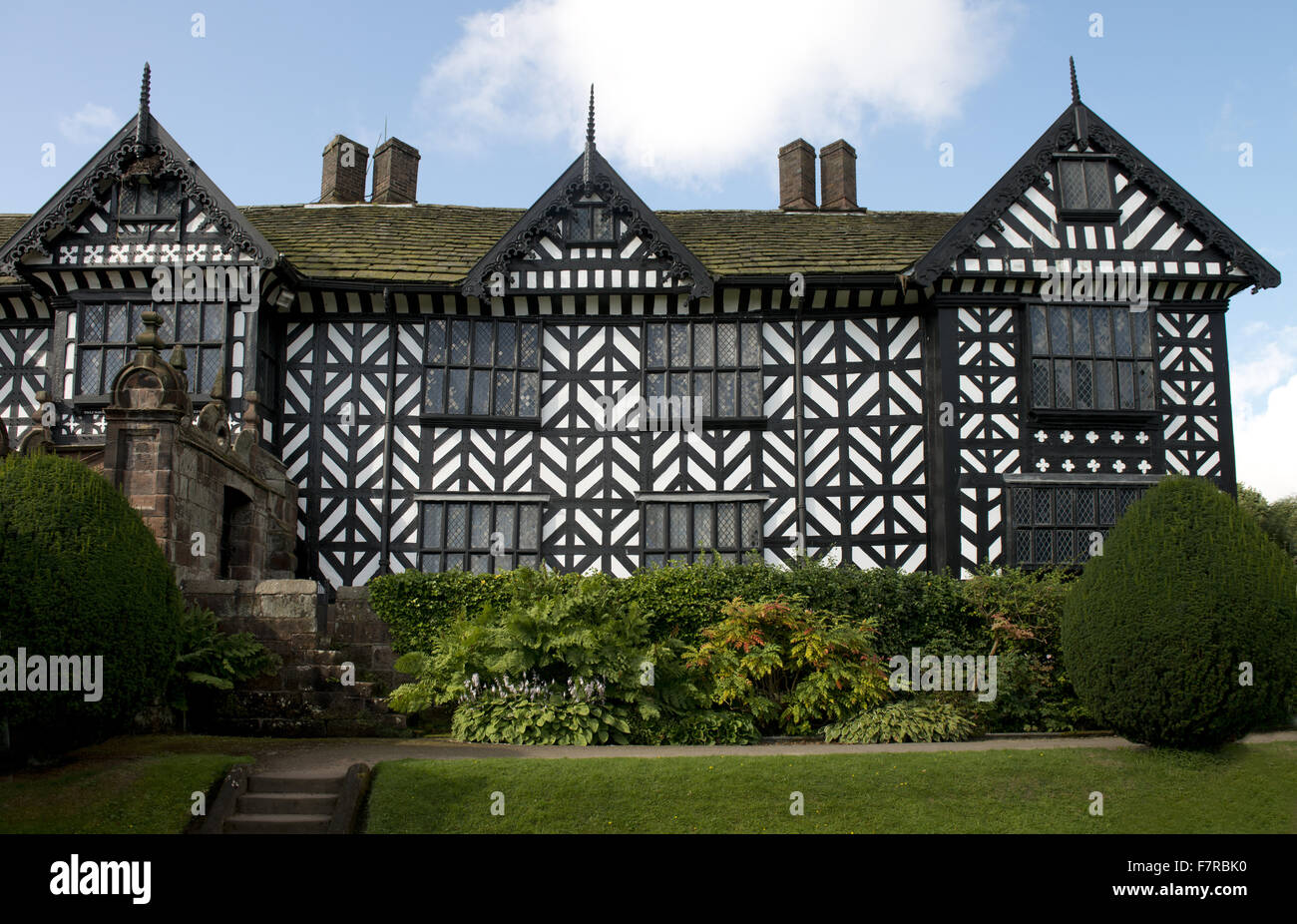 Speke Hall, Garden and Estate, Merseyside. Speke Hall is a Tudor ...