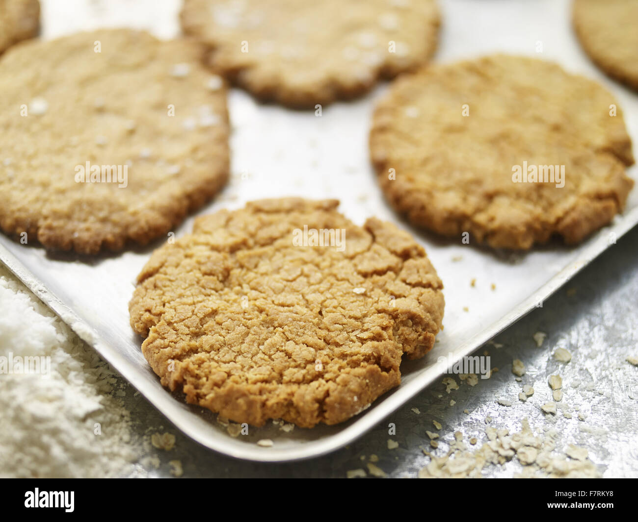 Cookies photographed for the 2015 National Trust Summer Cookbook. - Stock Image