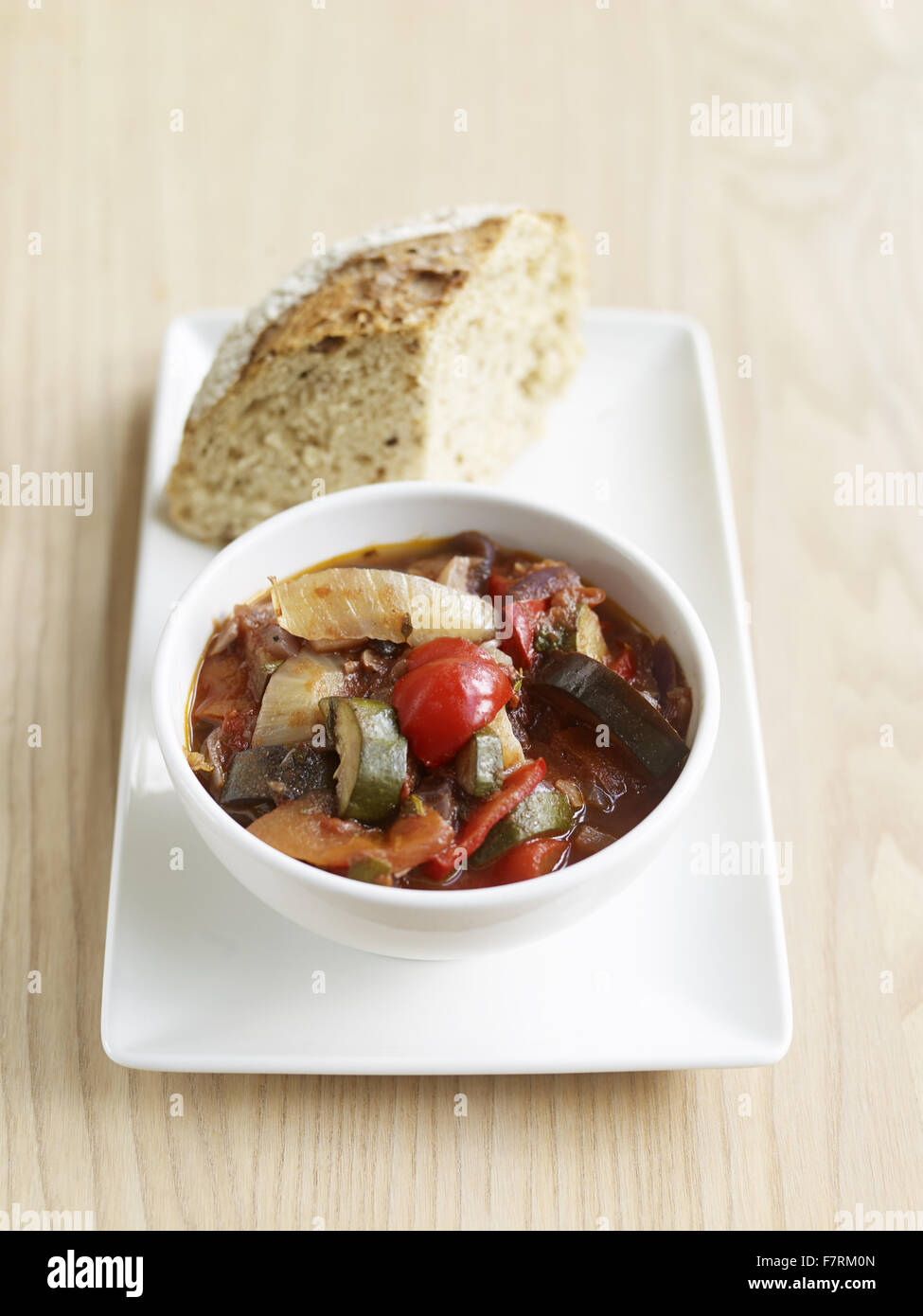 Ratatouille photographed for the 2015 National Trust Summer Cookbook. - Stock Image