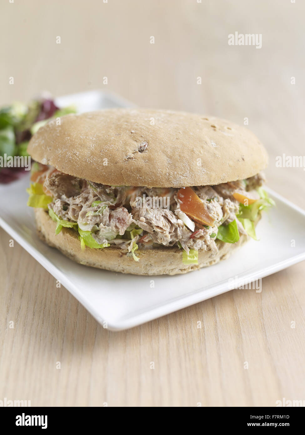 Tuna and lime roll photographed for the 2015 National Trust Summer Cookbook. - Stock Image