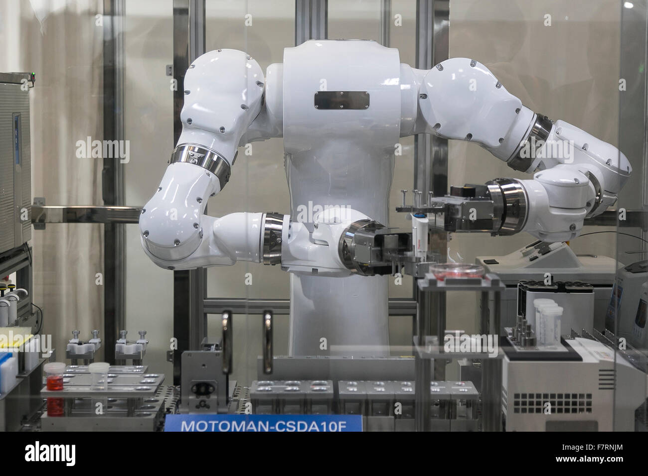 Yaskawa Electric Corporation's robot performs at the