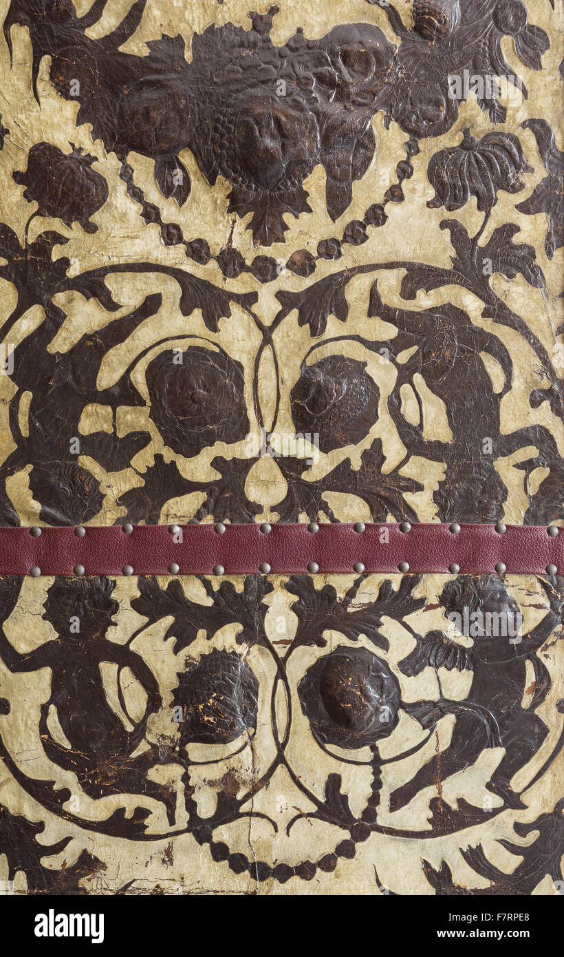 A Detail Of A Design Used Inside Greyfriars House And Garden