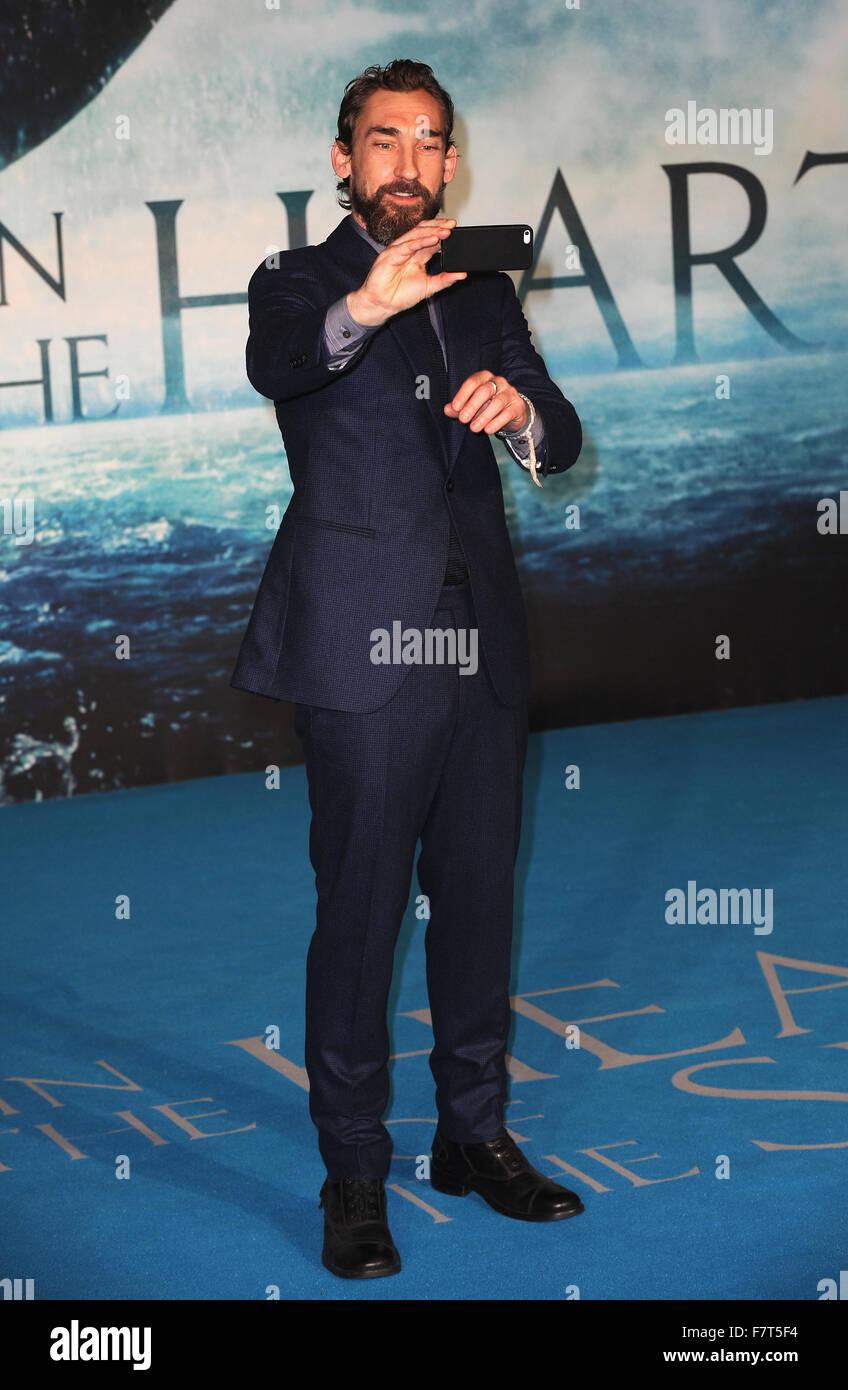 London, UK. 2nd Dec, 2015. Joseph Mawle attends the UK Premiere of ...