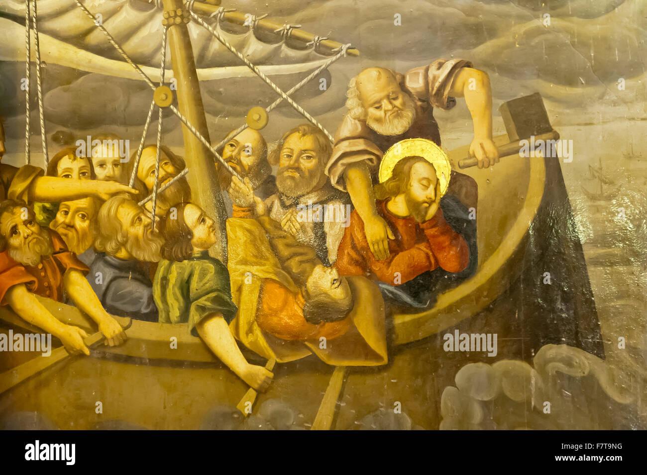 Jesus Mural Stock Photos & Jesus Mural Stock Images - Alamy