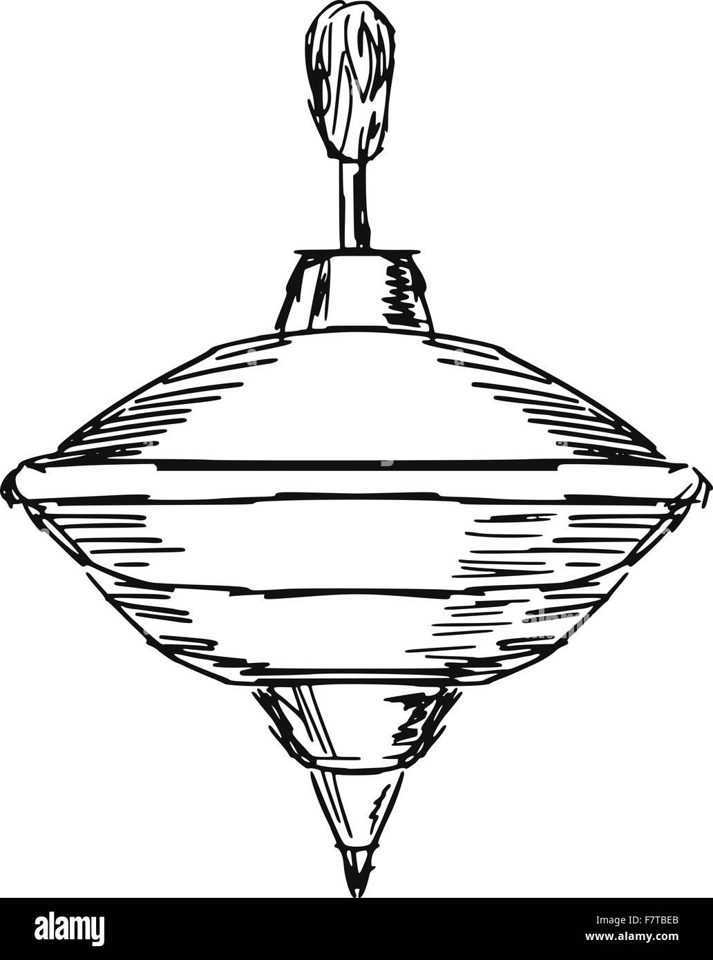 whirligig - Stock Image