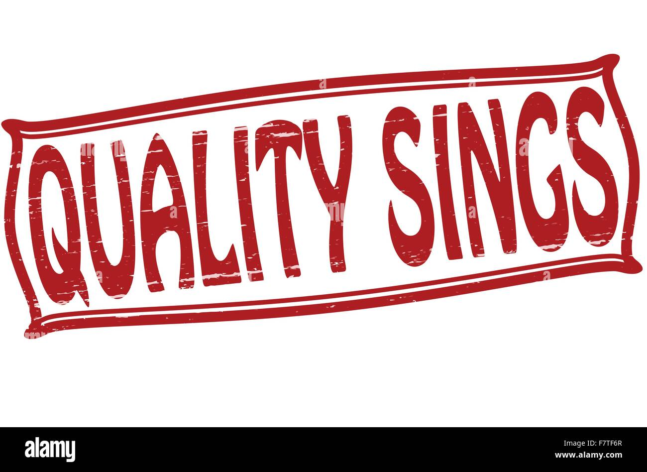 Quality sings - Stock Vector