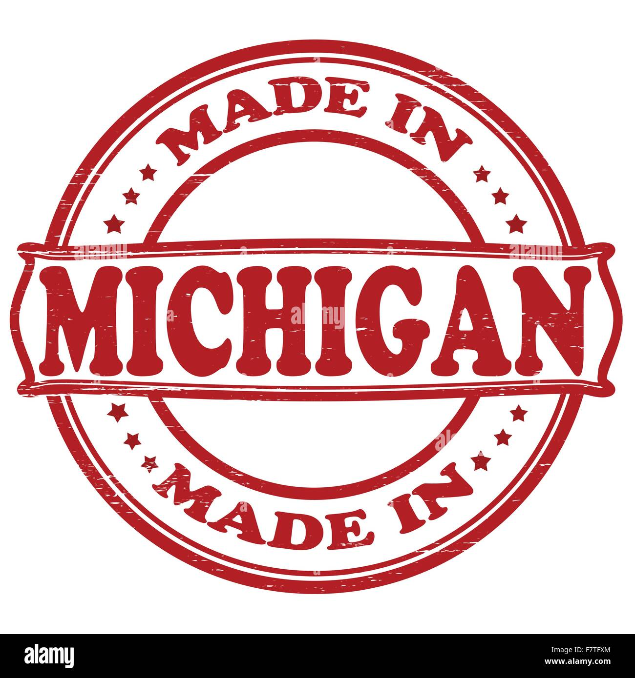 Made In Michigan >> Made In Michigan Stock Vector Art Illustration Vector