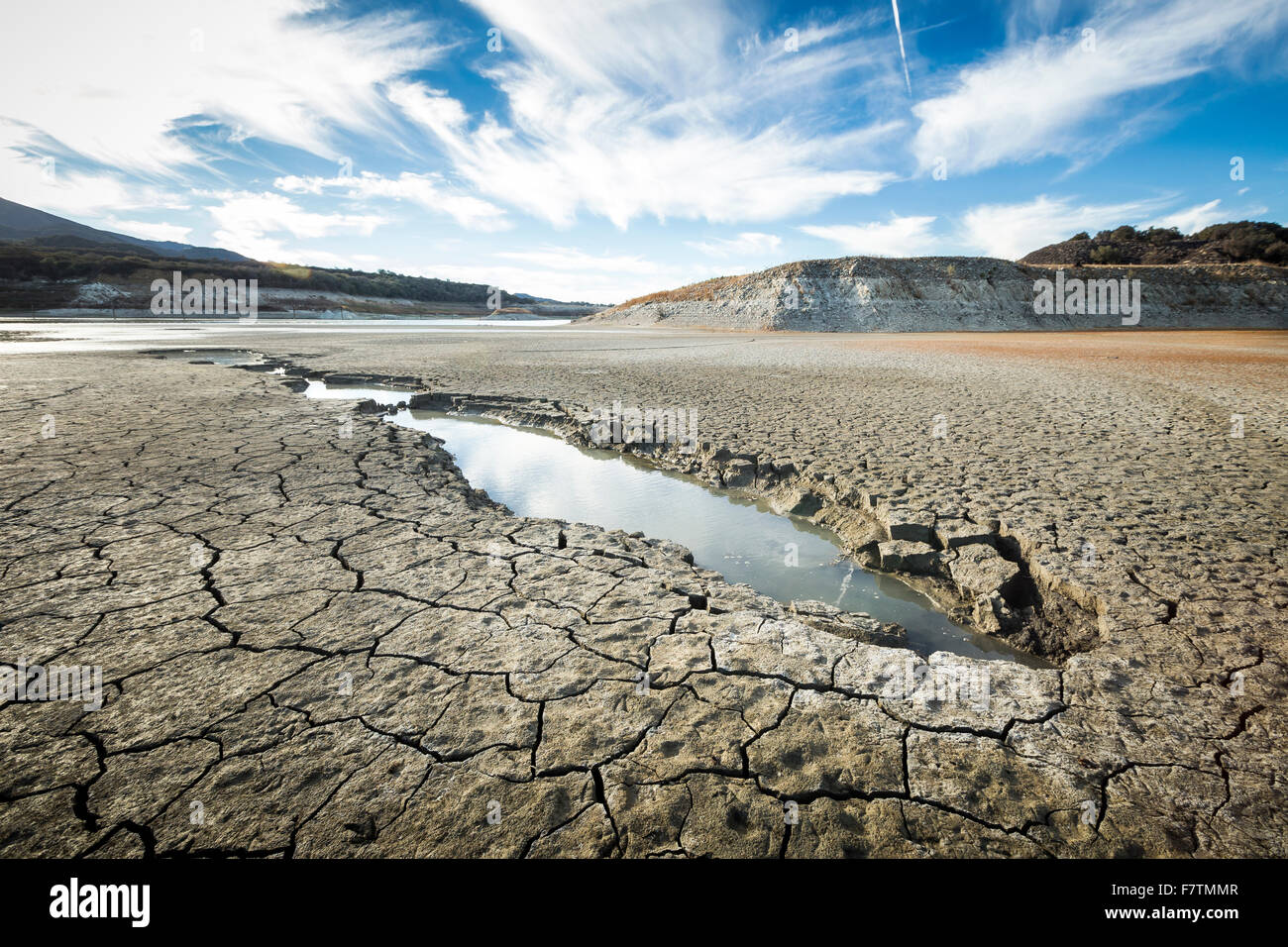 Cachuma Lake, California, USA. 2nd December, 2015. As the severe drought in California continues for a fourth straight - Stock Image