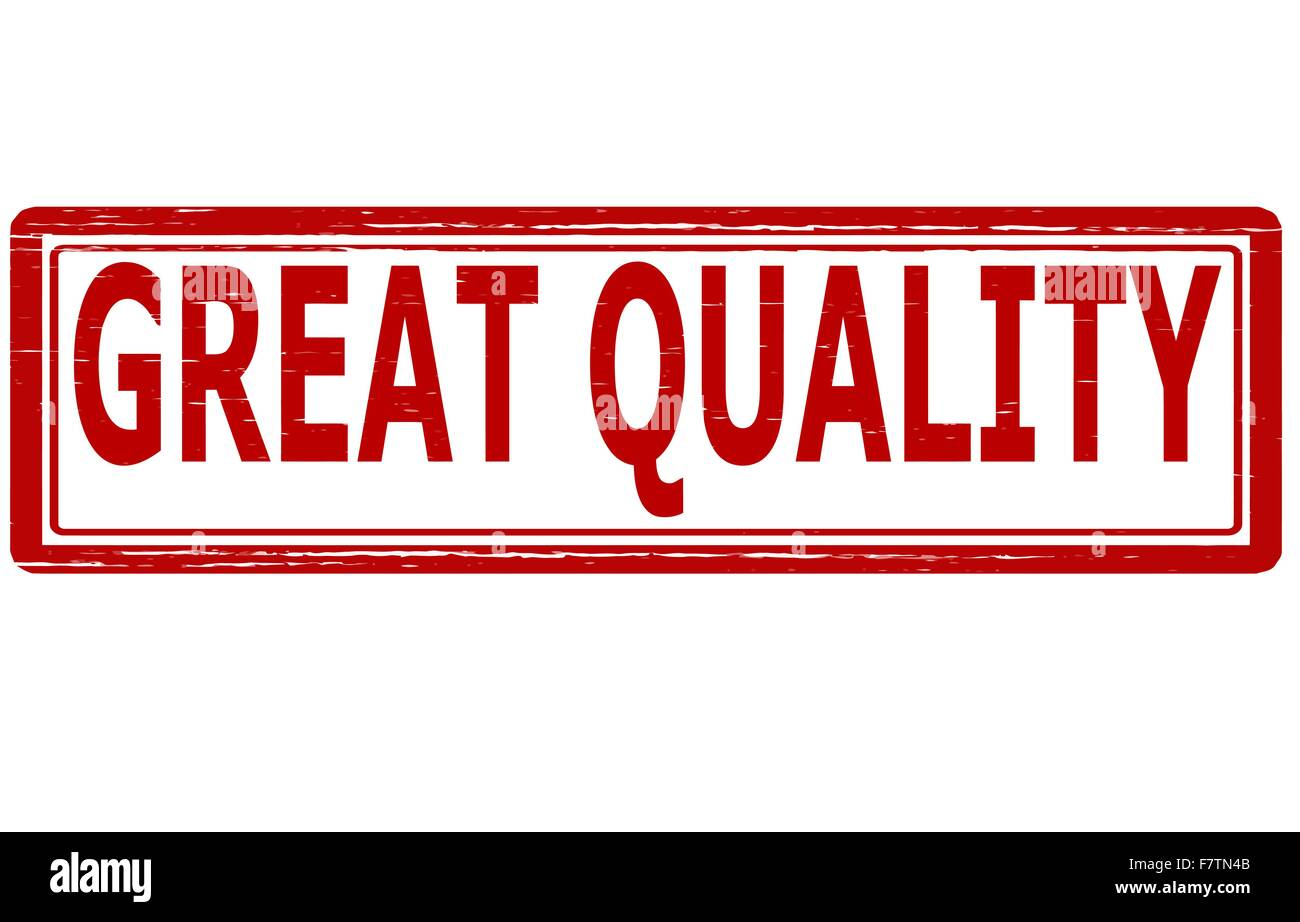 Great quality - Stock Vector