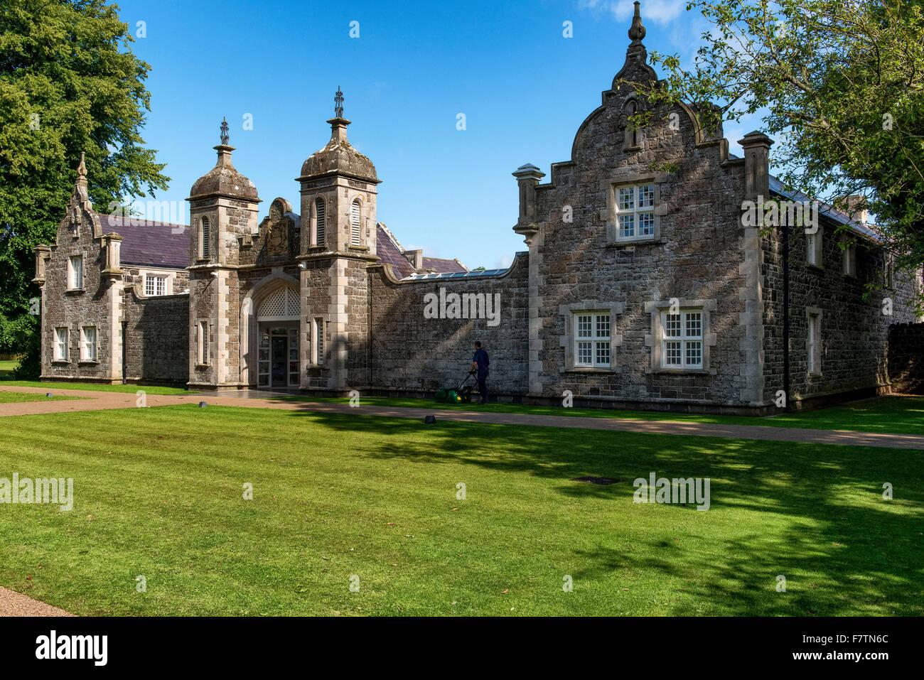 Clotworthy House, Antrim Castle Gardens Northern Ireland - Stock Image