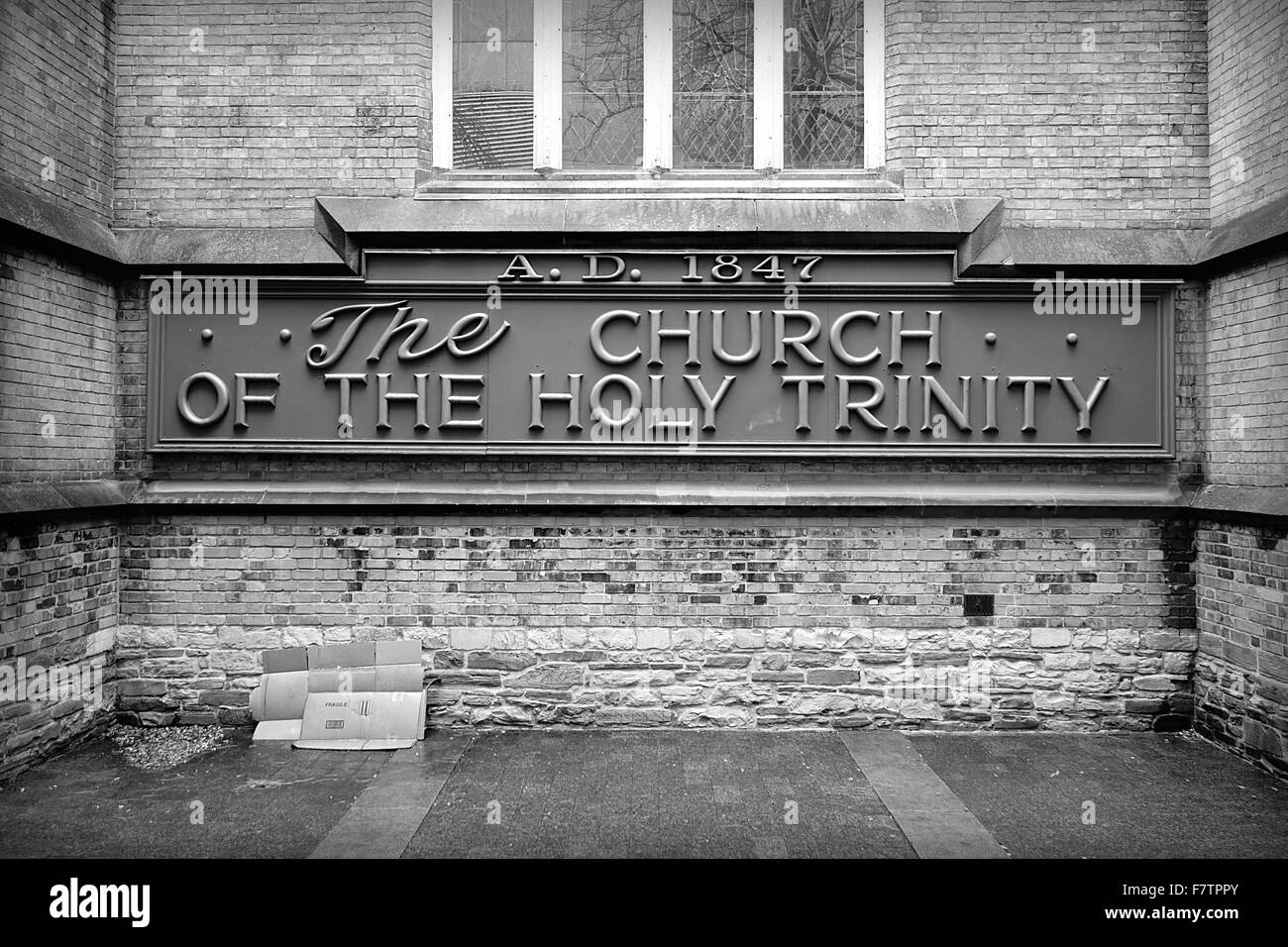 The Church of the Holy Trinity in Toronto, Canada - Stock Image