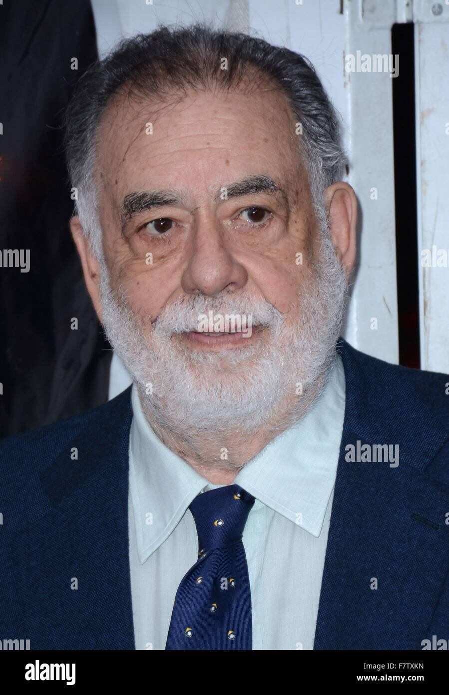New York, NY, USA. 2nd Dec, 2015. Francis Ford Coppola at arrivals for A VERY MURRAY CHRISTMAS Premiere on NETFLIX, - Stock Image