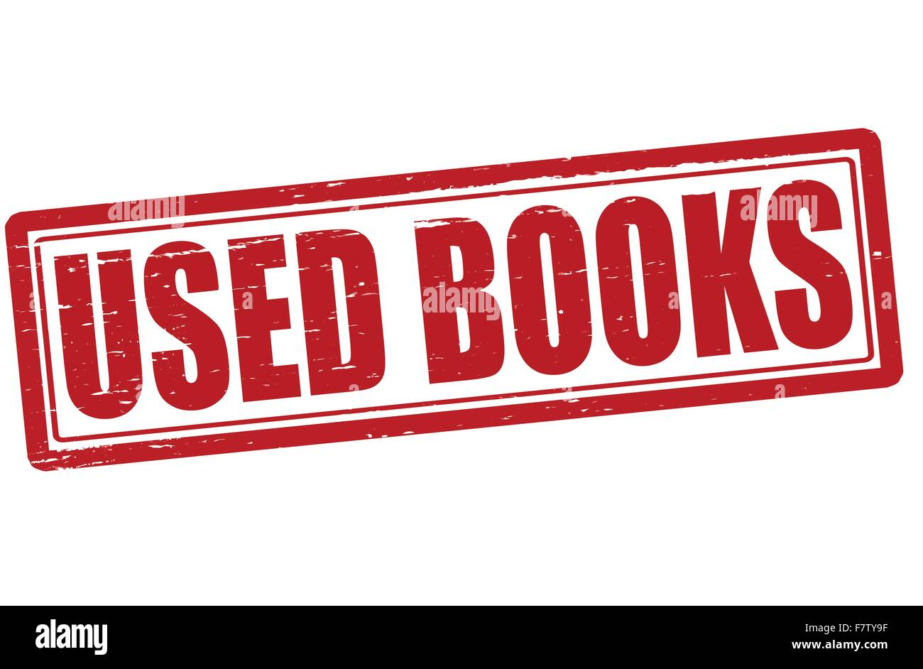 Used books - Stock Vector