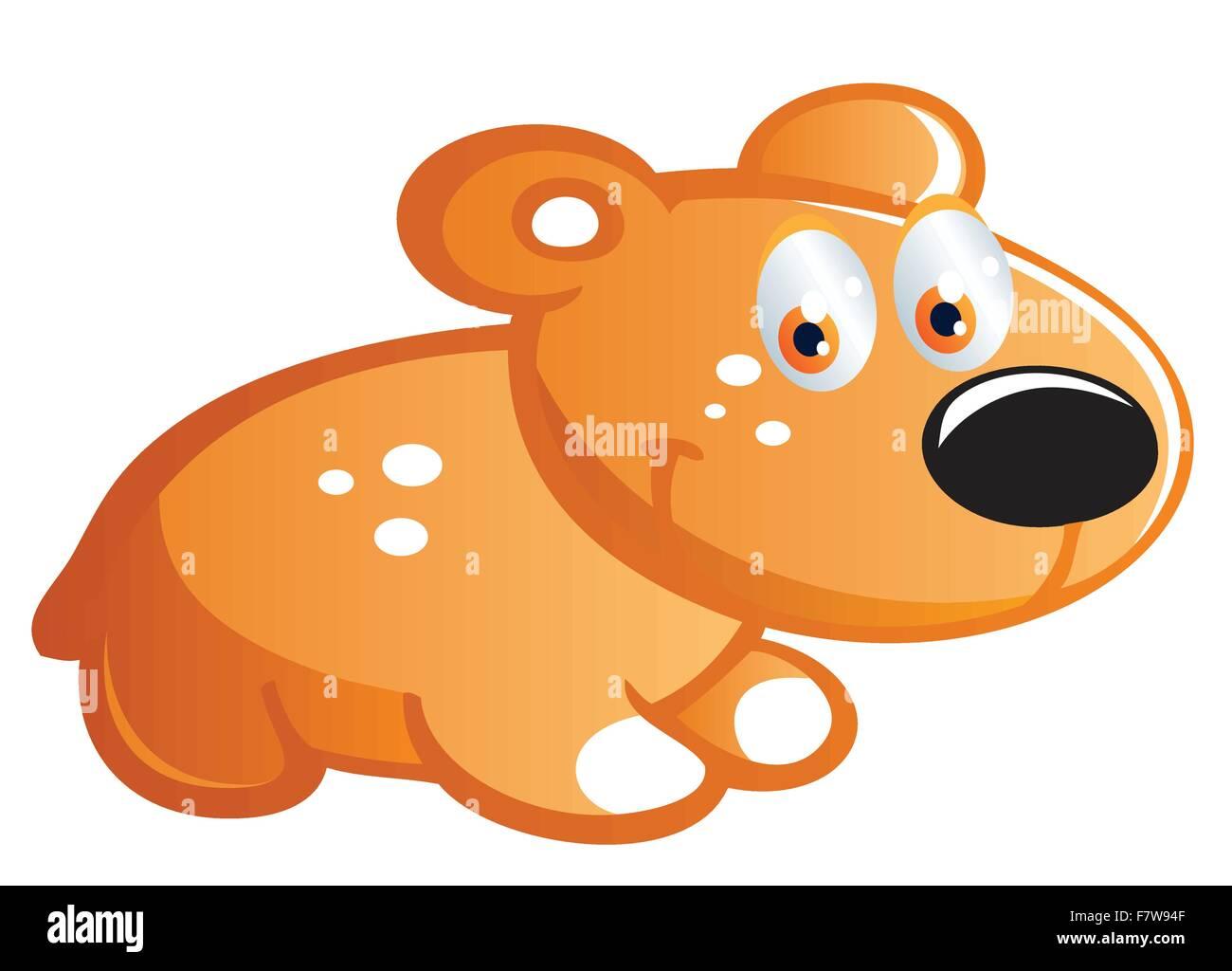 baby mouse cartoon - Stock Vector