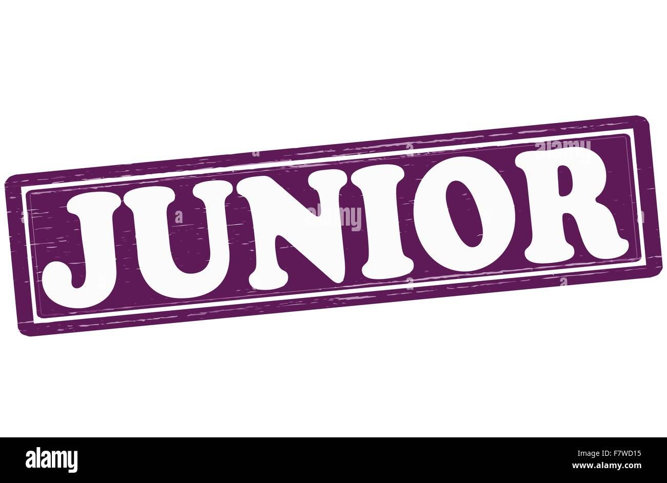 Junior - Stock Vector